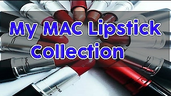 My MAC Lipstick Collection | Swatches On Indian Skin   #macindia #mac #lipstick #rubywoo #makeupcollection #soroposo