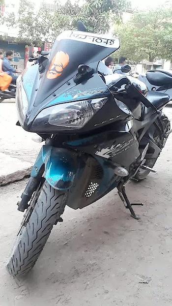 King of all bikes.. #r15 #yamaha #racing #biker #lovebiking #yamahar15