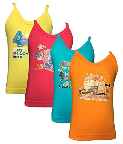 Lilsugar Girls Fluorescent Colored Camisole  Fabric: Cotton Type: Camisole( with out adjuster) The colour of few slips in the pack might be different at times as we tend to supply from the latest arrivals . But the size will be same as mentioned in the size chart  Buy Link- https://www.amazon.in/dp/B077WC472T  #flourscent