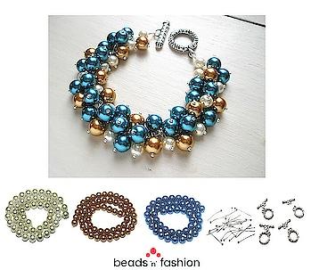 Premium Shell Pearls Bracelet #beadsnfashion #premiumpearls #pearlbracelet #pearljewelry #pearljewellery #ballpins #toggle #toggleclasp #bracelets #handmadebracelets #designerjewellery #designerbracelet #handcraftedbracelets #diyjewellery #diyjewelry  Buy Premium Shell Pearl https://bit.ly/2Hg4HEt Buy Ball Pins https://bit.ly/2Kj89ft Buy Toggle Clasps https://bit.ly/2vCx0rf