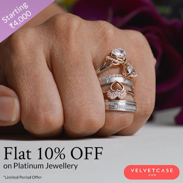 Limited Period Offer | Flat 10% OFF Platinum Jewellery | Starts at Rs.4,000  Aayra Jewels, from the house of Pure Platinum.  Shop Now http://bit.ly/2KZNWLU  #velvetcase #jewelleryoffers #offers #jewelry #jewellery #platinumjewellery #goldjewellery #swarovski #sale