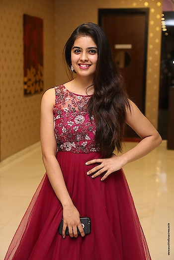 Amritha Aiyer at Kaasi movie Pre-Release Event http://www.southindianactress.co.in/featured/amritha-aiyer-kaasi-pre-release/  #amrithaaiyer #southindianactress #teluguactress #tollywood #tollywoodactress #indianactress #indiangirl #indianmodel #actress #maroondress #longdress #fashion #style #styles #indiandress #indianfashion #indianstyle