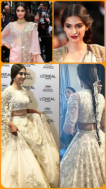 💜 STYLE ON MY MIND 💜 Hail the queen for pushing the boundaries when it comes to traditional indian accessories for red carpet at Cannes film festival.😍😍  #sonamkapoor #traditionaljewelry #indiantraditionaljewellery #celebrityfashion #trendylook #trend-alert #fashion_and_style #fashionandbeautyinfluencer #stylediaries #styleandfashion #cannes2018 #designerfashion #bollyfashion #roposo-style #roposo-makeupandfashiondiaries #roposofashionbloggernetwork #delhifashionbloggernetwork