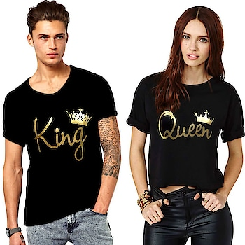 Diaz Black Cotton Couple Combo  Type:T-Shirts Color:Black Fabric:Cotton Neck:Round Neck Length:Medium Fit:Regular Disclaimer:Product Colour May Slightly Vary Due to Photographic Lighting Sources or Your Monitor Settings.  #men #women #kids #clothing #tshirt #top #stylish #designer #printed #comfortable #gymwear #trendy #fashionable   Buy Now:- https://bit.ly/2Iv0RE8