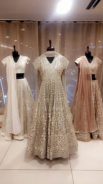 Varun Nidhika are making your fairy tale summer wedding dreams come true with their curated intricate embroidered collection in romantic pastels and soothing summer colours!!  Walk into Deval The Multi Designer Store to shop designers gorgeous collection. #summercollection #designercollection #devalthemultidesignerstore #ahmedabad