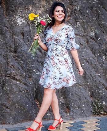 Blogger The Fashion Chauvinist picks the #FabAlley floral dress for an easy breezy summer look SHOP HER LOOK - https://bit.ly/2k64xS5  #cute #bae #weekend #thuglife #bindass #model #styles #bollywood #like #love #FabAlley #star #happyvibes #ilove #womanpower #mood #party #Discount
