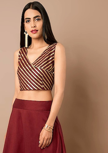 Wardrobe Essential: Crop Top💖 Pair it with anything and everything! SHOP CROP TOPS - https://goo.gl/GRq3Mv  #roposo #fashion-addict #party-edit #party #party-wear #clothes #Fashion #loveyourself #beauty #styles #love #followme #like #fashion #celebration #trending #roposogal #wow #roposolove #Summer #Wedding #Indya #traditionaldress #ethnic #Indo-Western #top
