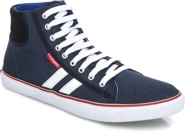 LeeParke Lace up Lifestyle Navy Blue Casual Shoes. A perfect combination of comfort, style, and workmanship, LeeParke is all about confidence and making a fashion statement. Its flaunting design pattern sparks a cool statement as you take a step ahead in them.  https://bit.ly/2IAOd6f  #menshoes #shoes #womenshoes #canvasshoes #shoesformen #sliponshoes #laceshoes