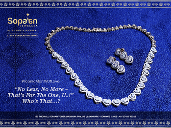 """Love💖 is in the air…..! . Perfect time to share feelings with your special ones…..that blossoms the beauty of wonderful """"WE""""👩❤👨👩❤👨! . Link: https://bit.ly/2IsQKU5 . #SopaanJeweller💍💎💍 #Roposo #RoposoDiaries  #Diamonds💎  #Diamondrings  #Stones #Pearls #womenfashion #FashionJewellery #Bridaljewellery #KundanPolki #Love💖#DiamondJewellery #Gold #KumarNikkamal  #TraditionalJewellery #picofthedaystyle #Sopaan #Ludhiana"""