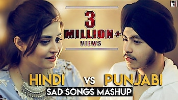 Hindi vs Punjabi Sad Songs Mashup | Deepshikha | Acoustic Singh | Bollywood Punjabi Sad Songs Medley