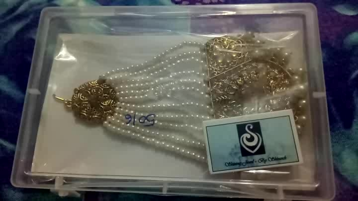 this beautiful paasa is from Flipkart  it cost 999INR but in offer I got it for 411INR  I'm quite happy with the product I rate 5/5   #paasa #indian #indianjewellery #review #reviewblog #reviewoftheday #reviewed #videoblogger #videoblog #traditional #traditionalfashion #pearlwork #tradition #traditionalindian #tradionalove #online #onlineshop #online-shopping #flipkart #onlineshoppinginindia #onlinedeals #onlineshoppersguide #onlinejewellerystore