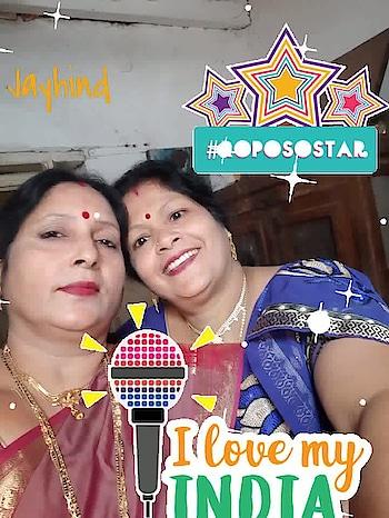 Jay hind #roposostar #glitter #roposomic #ilovemyindia