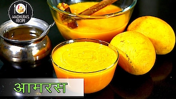 Presenting Super Delicious and Tasty AamRas Recipe Today.. #ropo-love #ropo #ropo-post #ropo-foodie #ropo-video #recipe #recipeoftheday #recipes #food #foodlover #foodtalkindia #dessert #sweet #mango #mangolover