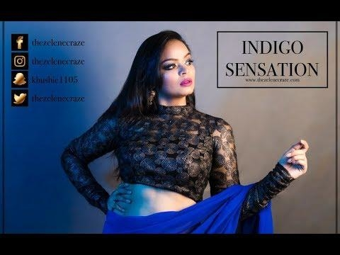 "New Video uploaded on ""indigo sensation""  Gorgeous Bluey smokey eye make up have a look 😍😁💕 #thezelenecraze #makeup #makeupblogger #makeuptutorial #makeupvideos #ropo-makeup #eye-makeup #makeup #cosmetic #lipstick #mac #makeup #makeupblog #makeupdolls #makeuptips #makeupartist #makeupartistindia #makeupartistsworldwide #makeupartistdelhi"