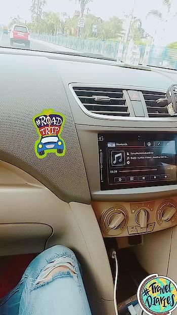Road Trip ❤❤#roadtrip #travel-diaries #travel #car #mylove #myway #cars #travel-diaries #traveldiaries #roadtrip