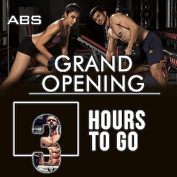 The countdown has begun!  Only 3 hours to go for GRAND OPENING of ABS Fitness and Wellness Club Nashik @ Don Bosco Premises, Next to Bosco centre, Prasad circle, Gangapur road Nasik (Nashik) #absnashik #absfitnessnwellness #absfitness #abs #absworkout #NashikFame #AbsFitnessNWellness #abs #AbsNashik #fitnessfirst #workout #Hurry #6hourstogo #health #wellness #fitness #bignews #COUNTDOWN #announcement #excited #happiness  https://goo.gl/HAqgLz