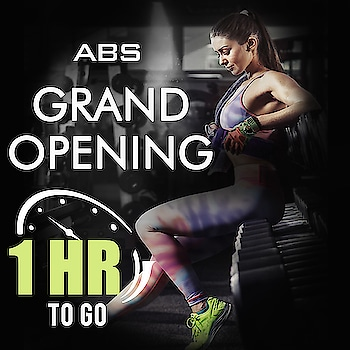 #1HourToGo ❤  Can't wait 😍🔥 '  Few hours to go for ABS Fitness launching! Stay tuned! 🔥🌸  @ Don Bosco Premises, Next to Bosco centre, Prasad circle, Gangapur road Nasik (Nashik)  #absnashik #absfitnessnwellness #absfitness #abs #absworkout #NashikFame #AbsFitnessNWellness #abs #AbsNashik #fitnessfirst #workout #Hurry #6hourstogo #health #wellness #fitness #bignews #COUNTDOWN #announcement #excited #happiness  https://goo.gl/HAqgLz