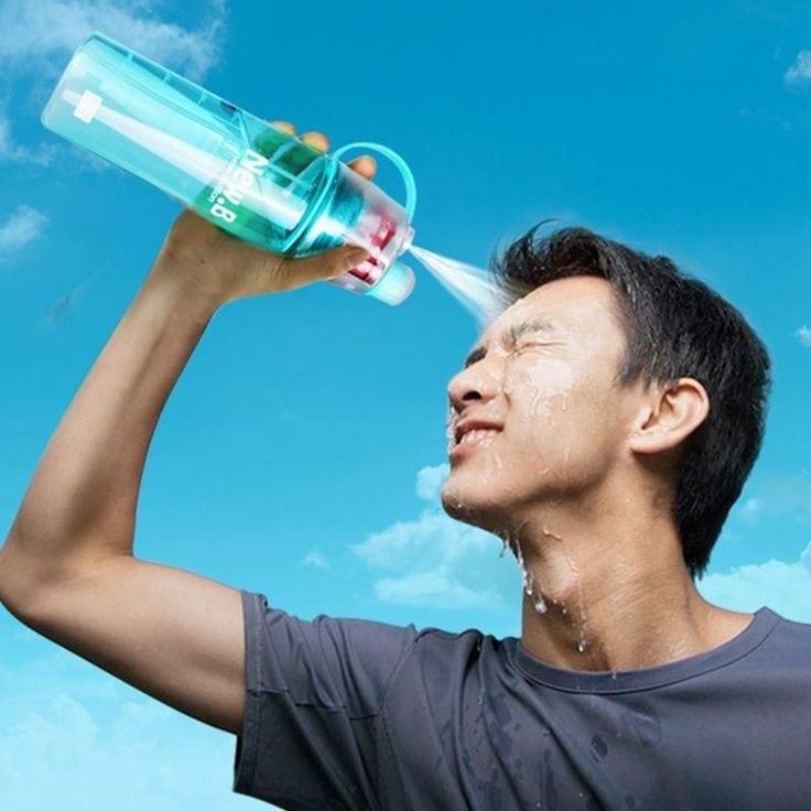 #beattheheat #bottlespray #hot #summer #crazyheat #water #spray #feelfresh #portablebottle #freshwater #flintstop