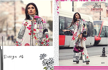 SAMAIRA FASHION MINA HASAN COTTON EMBROIDERED LAWN PAKISTANI STYLE SALWAR KAMEEZ For Inquery And More Info  #contact or #Whatsapp us ON:+91 9687533166 , +91 74330 08204 Email:textile299@gmail.com Website:http://textilebazar.in