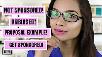 Sponsorship For Small Channels | Famebit Sponsorship 2018 + Requirements + Proposal Example