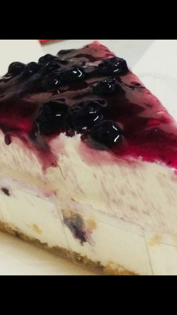 #blueberry #cheesecake #yum #imlovinit #myfave 🎈🍰