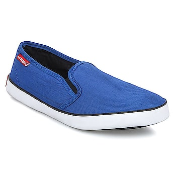 LeeParke Slip on Men Blue Casual Sneaker, LeeParke brings to you the most comfortable Canvas sneakers (Rubber Vulcanised) for your running, walking and casual wear needs.  https://www.amazon.in/dp/B07BYNMR23  #shoes #canvasshoes #sneakers #mensneakers #casualshoes #styleshoes