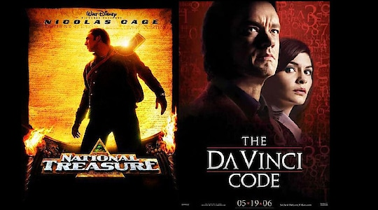 What are some great puzzle movies like the Da Vinci Code & National Treasure?  Suspense thrillers always attract us. Do you really love dense complicated movies having a complex plot with the cunning twist? If your answer is in positive, then this is the real treat for you. Yes here are some of the all-time favorite movies, which you would love to see. The films will really generate your brain work thus helping you to rack your brain, for working out what's going on in the movie. The puzzle movies are really the national treasure for us.  Here are some of the greatest puzzle movies:  Da Vinci Code(2003): This 2003 mystery thriller by Dan Brown is about the story of murder inside Louvre. Clues inside the Da Vinci paintings, help in bringing out the religious mystery, hidden by a secret society for two thousand years. This will shake the foundations of Christianity.  National Treasure(2004): A political adventure mystery, this film is about a treasure hunter, discovering the hidden troves and secrets of U.S history with the help of his father, his girlfriend, and his loyal assistant.  Dead End(2003): On his way to his in-laws with his families, Frank Harrington, decides to try a shortcut. This for the first time in 20 years. This really turns out to be the biggest mistake of his life.  Next Door(2005): After his sudden break-up with his girlfriend, John allows himself to be seduced in the mystical and the scary world. This is the ideal place where you are unable to separate truth from lies.  Hidden Face (2011): Completely shattered by the unexpected news, the aspiring orchestra conductor is really shocked and devastated by the sudden disappearance of his girlfriend.  Swimming Pool (2003): The story revolves around the sudden visit of a British mystery author to her publisher's house, in South of France.Her interaction with her unusual daughter sets off some touchy dynamics.  Confessions (2010): A psychological thriller where a mother initially mourning her daughter's 