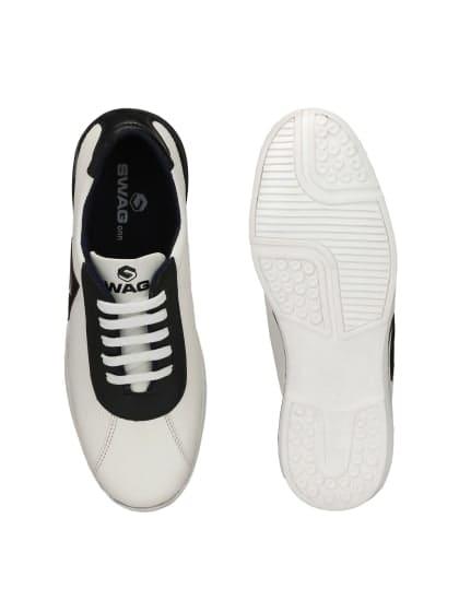 Swagonn White Stylish Sneakers Price: 499/-  #shoes #multy-lofars-shoes-for-men #shoesoftheday #shoestyle #shoesformale #shoesforboys #multy-lofars-shoes-for-women #shoesday #shoes4sale #shoesoff #shoesshouts #shoeso #shoeshot #shoesforgirls #shoesstore