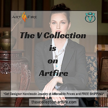 We're now on @artfirecom 😊 Get Designer Handmade Jewelry at Affordable Prices with FREE SHIPPING 😍 Check it out :- thevcollection.artfire.com  #ethnicjewelry #fashionjewelry #contemporaryjewelry #designerjewelry #handmadejewelry #handcraftedjewelry #indianjewelry #latesttrends #accessories #TheVcollection #artfire #Vstyle