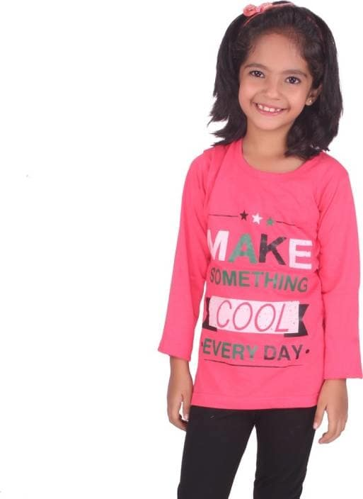 Diaz Girls Printed Cotton T Shirt  (Red, Pack of 1)  Fabric: Cotton  Color: Red Ideal For: Girls Full Sleeve Round Neck Occasion: Casual  #summer #collection #kids #men #women #top #tshirt #legging #jegging #designer #printed #stylish #casual #trendy #gymwear   Buy Now:- https://bit.ly/2IZx3DV