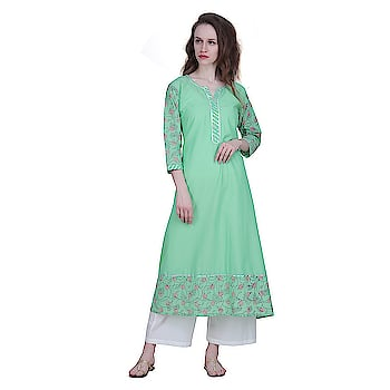 An amazing range of women Kurti in soft and solid colors that looks perfect for regular wear. With beautiful designs and patterns, these apparels are very stylish and comfortable too.   https://bit.ly/2kO0L00  #Kurti  #womenKurti #regularwear #beautifuldesigns