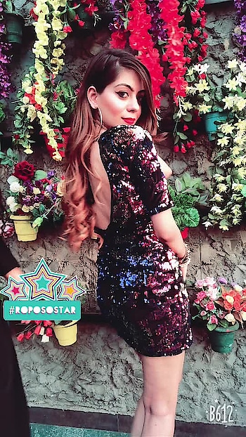 #roposo #soroposo #roposolove #roposocontests @roposotalks #roposotalks #sequins #birthdaydress @srstore09 #topnotch #trending #trendsetter #chic #bling #makeuponpoint  #goals #love #life #happiness #thatback #makeuplover #like #comment #share #follow #spreadlove #diva #delhigirl #taurus #radiostation #roposostar