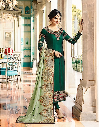 Prachi Desai Designer Salwar Suits Collection...😍😍😍 Price:- 3500/- To Order Whats-app us (+91) 8097 909 000 * * www.nallucollection.com * * #salwar #salwarsuits #dress #dresses #longsuits #suitsonline #ambroidered #bollywood #prachidesai #prachiidesaisuits #straightsuits #dupatta #fashion #style #stylish #love #springsummer #eid #offer #eidcollection #beauty #beautiful #pretty #design #shopping #ethnic-wear
