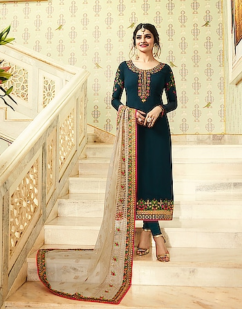 Prachi Desai Designer Salwar Suits Collection...😍😍😍 Price:- 3500/- To Order Whats-app us (+91) 8097 909 000 * * www.nallucollection.com * * #salwar #salwarsuits #dress #dresses #longsuits #suitsonline #ambroidered #bollywood #prachidesai #prachiidesaisuits #straightsuits #dupatta #fashion #style #stylish #love #springsummer #eid #offer #eidcollection #beauty #beautiful #pretty #design #shopping #ethnic