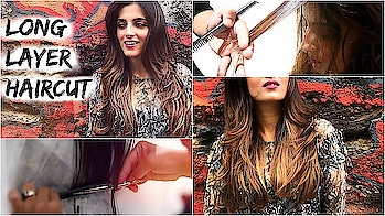 Long Layered Haircut Tutorial For Medium Hair/ How To Cut Layers In Long Hair- All About My Haircut #roposolook #roposolove #soroposolove #soroposo #diy #hair #hairdo #hairstyletips #hairstyleoftheday #haircolour #easytodo #easyhairstyle #quickhairstyles #updo #bun #knotmepretty #indianblogger #indianyoutuber #blogger