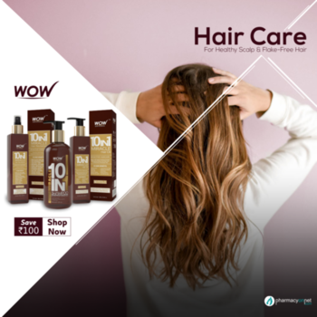 Buy Best Hair Care Products Online India  Discover a diverse range of hair care products from the well-known brand WOW. A complete hair care regime for dull and damaged hair. No Artificial Fragrance - Natural Ingredients - Effective cleansing - Hydrating & moisturizing. Shop our range of natural & organic hair care products from Wellnessmonk.com @ discounted price.   Click Here: https://www.wellnessmonk.com/141/wow
