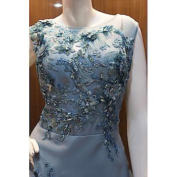 DOVE BLUE EMBROIDERED PARTY WEAR GOWN  http://www.khojkaladesign.com/evening-dresses/dove-blue-embroidered-party-wear-gown.html  FABRIC :- TISSUE  NET SILK  SATIN SHANTOON   SKU: KHOJ7207 Rs. 18,995  #fancysuitsdesigner #fancysuits #casualwear #eid #eidoutfit #eid2018 #eidmubarak #eidspecial #eidcollection #eidsale #eidshopping #eidsuit #mydress #womenfashion #fashionista #fashionblogger #indianfashion #bollywoodfashion #bollywooddresses #tvactressoutfits #actressfashion #celebrityfashion