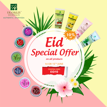 """It's nothing else more…!! Let your's beauty to glow like a moon!"" . This Eid, grab 'Franklin Herbals' special offer & Get 10% off on all products.  Use Coupon Code: EID10 . Shop Now: https://bit.ly/2HVjxjZ . #FranklinHerbals #gel #Eidoffer2018 #sunnydays #facewash #lipbalm #Specialoffer #MoisturisingCream #eid2018 #instapic #eid #moonnight #moon #summersessential #summer #summertime #herballife #herbalproducts #cosmetics"