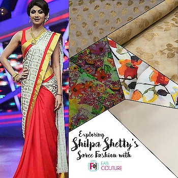 Exploring #ShilpaShetty fashion with FanCouture! Grab your fabric at : https://fabcouture.in/#FabCouture! #DesignerFabric at #AffordablePrices #DesignerDresses #Fabric #Fashion #DesignerWear #ModernWomen #DesiLook #Embroidered #WeddingFashion #EthnicAttire #WesternLook #affordablefashion #GreatDesignsStartwithGreatFabrics #LightnBrightColors #StandApartfromtheCrowd #EmbroideredFabrics