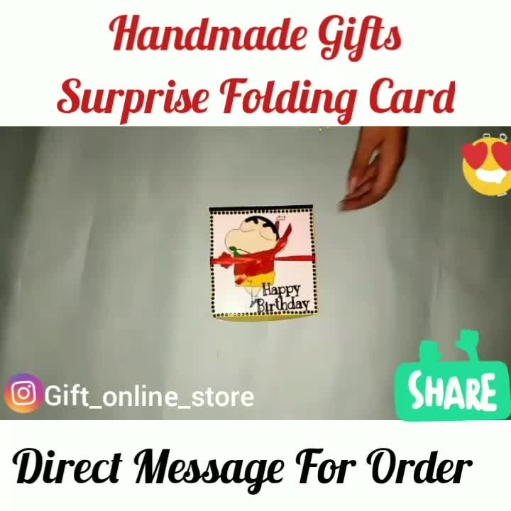 Order Done😍😍 ☺Love❣️ Special Folding Card romantic cum birthday theme #can be customised to any theme Need 35 pics Direct Message For Order❣️ 👉💌Dm for Order 👉For order send Name 👉Address & pin cod 👉No COD🚷 #surprises#specialgift#happybirthday#birthdaygift #birthdaygifts#customisedgifts#uniquegifts #giftsforher#giftsforhim#giftsforcouple #anniversarygifts#anniversarygift #personalisedcards#greetingcards#handmadegift #handmadegifts#handmadecard #womanentrepreur#femaleentrepreneur#giftideas#photo_art_store #spreadinghappiness#agiftingtale