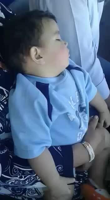 Tooo cute baby #innocence #cuteness-overloaded #wow