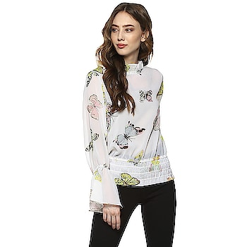 Buy This D'amor New Summer Collection.  With this #Western #Top for women from the house of D'amor These Dresses are perfect for #summer #vacation as well as You can wear it on daily basis. For purchase just Click on below link.#Ruffleneck #offwhite #flipkart https://bit.ly/2k73AJg