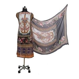 #unstitched  #unstitchedsuits  #cottonsuits  #cottonsuit  #cottonkurtis  #wedding-suits-designer  #stylishsuits  #geoegetesuit   Storefront link- http://prints-forever.shopclues.com  Title-Prints Forever Pakistani Crepe Black Pink Unstiched Suit with Silk Chiffon Dupatta for Women   Price-1580  link- https://bit.ly/2tloQzg