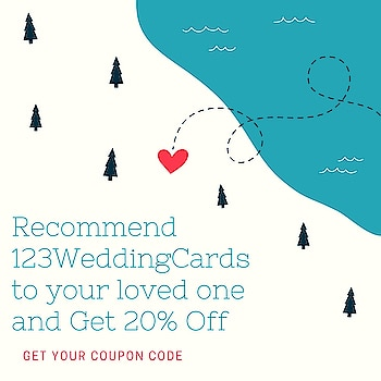 It's #Summer #Sale 2018.  Recommend 123WeddingCards & Get flat 20% discount on all wedding invites. Get your coupon code here:  https://www.123weddingcards.com/refer-and-earn   #SummerSale #Offers #Discounts #Sale2018 #WeddingInvitations