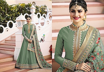 Prachi Desai Exclusive Anarkali Collection...😍💥😍 Price:- 2800/- To Order Whats-app us (+91) 8097 909 000 * * www.nallucollection.com * * #bollywood #festivewear #salwarsuit #anarkalisuit #dress #dresses #prachidesaisuits #prachidesaianarkali #designer #designercollection #embroidredsuits #weddingwear #longdresslove
