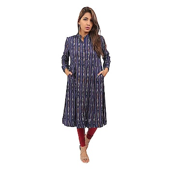 Vestra Vegas- Elegance Women's Latest Design Blue Kurti Front Open With Button And Side Pockets  happy #weekend #wedding #indianblogger #firstpost #blogger #menonroposo #captured #fun #roposo-style #roposolove #ropo-love #mood #nature #roposogal #jhakkas #beats #roposo #queen #photography #love #fashionblogger #soroposo #fashion #ropo-good #model #dude #bindaas #roposotalenthunt #merrychristmas #winter #loveyourself #dance   *Link https://www.amazon.in/dp/B07BXMF93Q