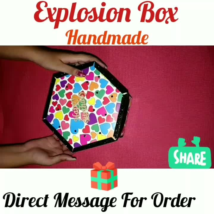Surprise Gift😘 Love Explosion box❣️ 4 Layers Need 25 to 30 ❣️❣️❣️❣️ Direct Message For Order🎁 @photo_art_store @gifts_shopping_time  @gift_online_store  @gift_personalized_magazine Special🎁🎁🎁🎁🎁😘 😍SPECIAL PERSON😍 Keep Ordering😍😍 Birthday Couple Friendship Family Anniversary 😍😍 😍 DM for Order  #surprises#specialgift#happybirthday#birthdaygift #birthdaygifts#customisedgifts#uniquegifts #giftsforher#giftsforhim#giftsforcouple #anniversarygifts#anniversarygift #personalisedcards#greetingcards#handmadegift #handmadegifts#handmadecard #womanentrepreur#femaleentrepreneur#giftideas #photo_art_store #gifts_shopping_time #gift_online_store