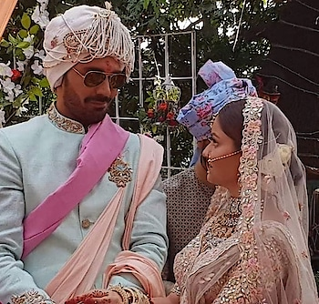 #rubinadilaik Ties Knot To #Abhinavshukla In A Dreamy Summer Wedding! See Pictures and Videos #celebritywedding #indianwedings  Videos link - https://www.eventznu.com/rubina-dilaik-ties-knot-to-abhinav-shukla-in-a-dreamy-summer-wedding-see-pictures/