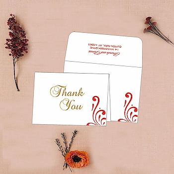 Beautiful white/off-white color fully customizable Thank you card made from best quality paper.  Price as low as $0.35 per card. Shop it now at:https://goo.gl/XaFokC  #thankyoucards #thankyouinvites #thankyounotes #thankyouinvitations #weddings #stationery