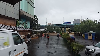 ##Today's rain ☔ in Thane Mumbai## ☔️️️ #rain #raining #rainyday #toptags #pouring #rainydays #water #clouds #cloudy #photooftheday #puddle #umbrella #instagood #gloomy #rainyweather #rainydayz #splash #downpour #instarain #sky #moment #amazing #instadaily
